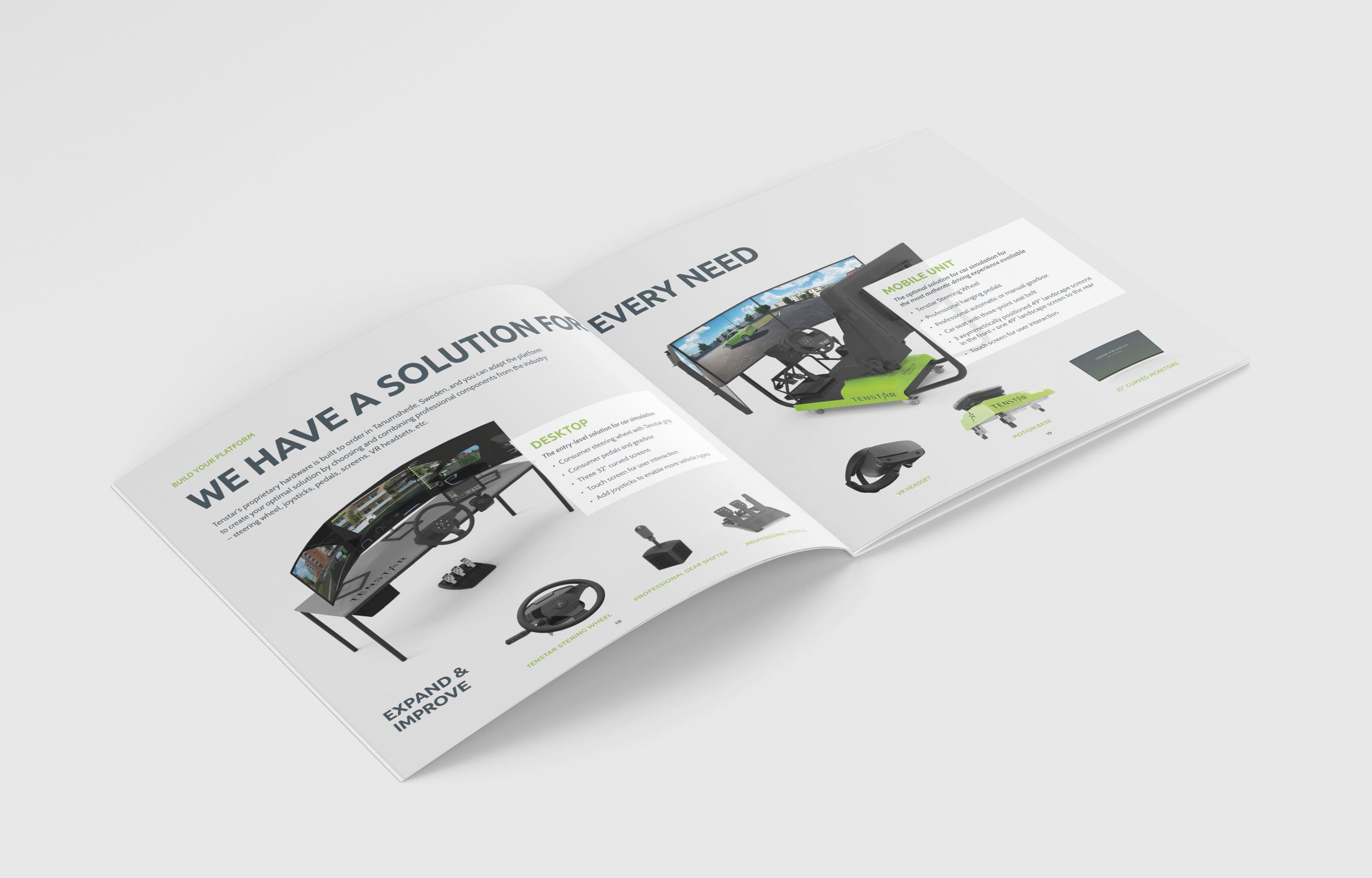 Square Brochure Mockup 4 TENSTAR CAR2