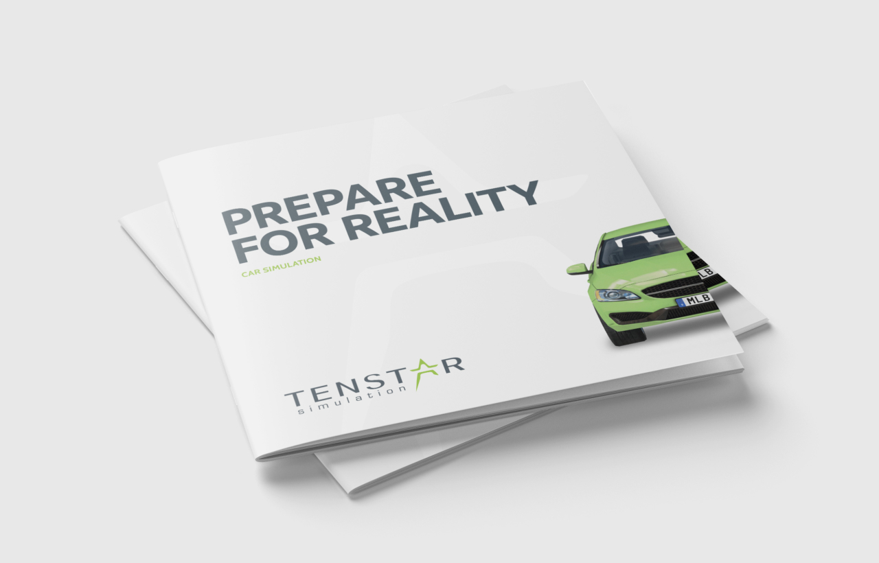 Square Brochure Mockup 2 TENSTAR CAR