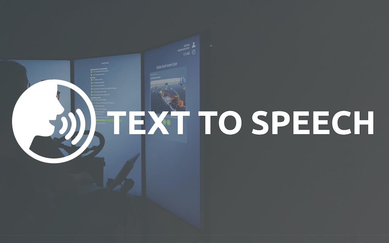 TTS text to speech 2021