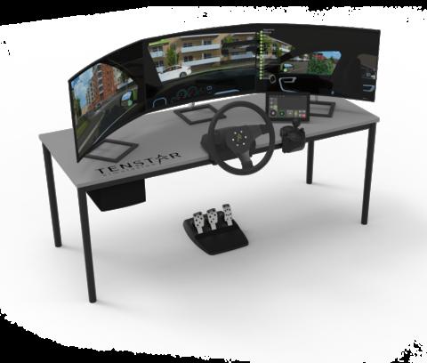 Desktop Light 3x32 3legstand Car interface